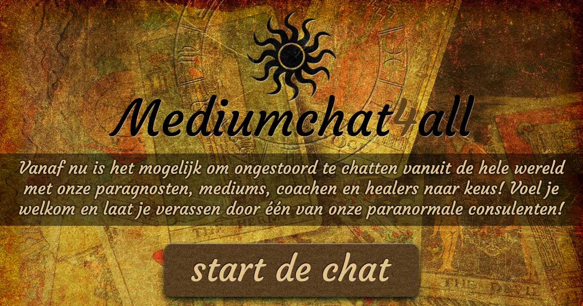 Voel je welkom bij onze Medium chat! - mediumchat4all nl